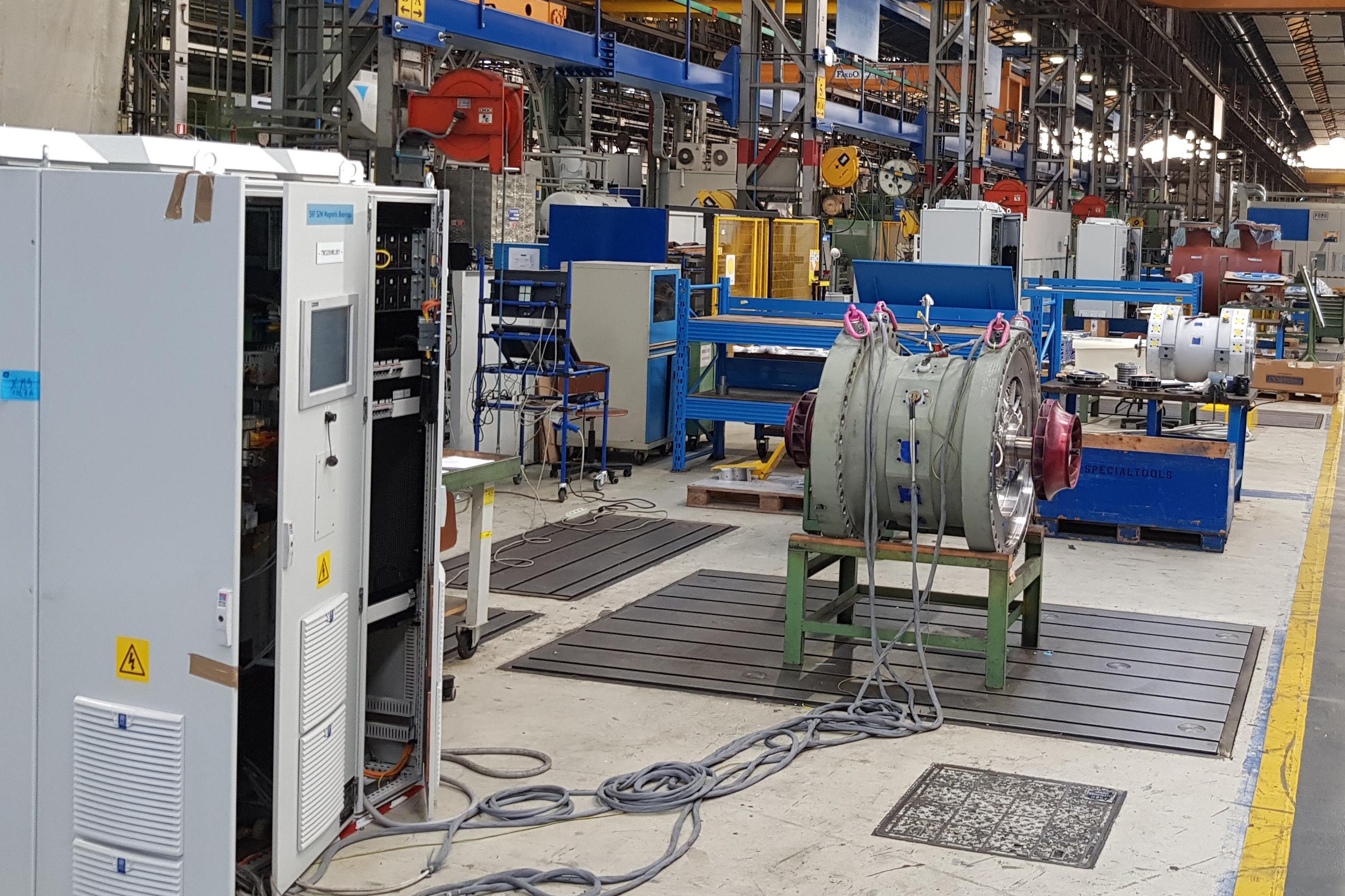 Turboexpander Compressor Assembled