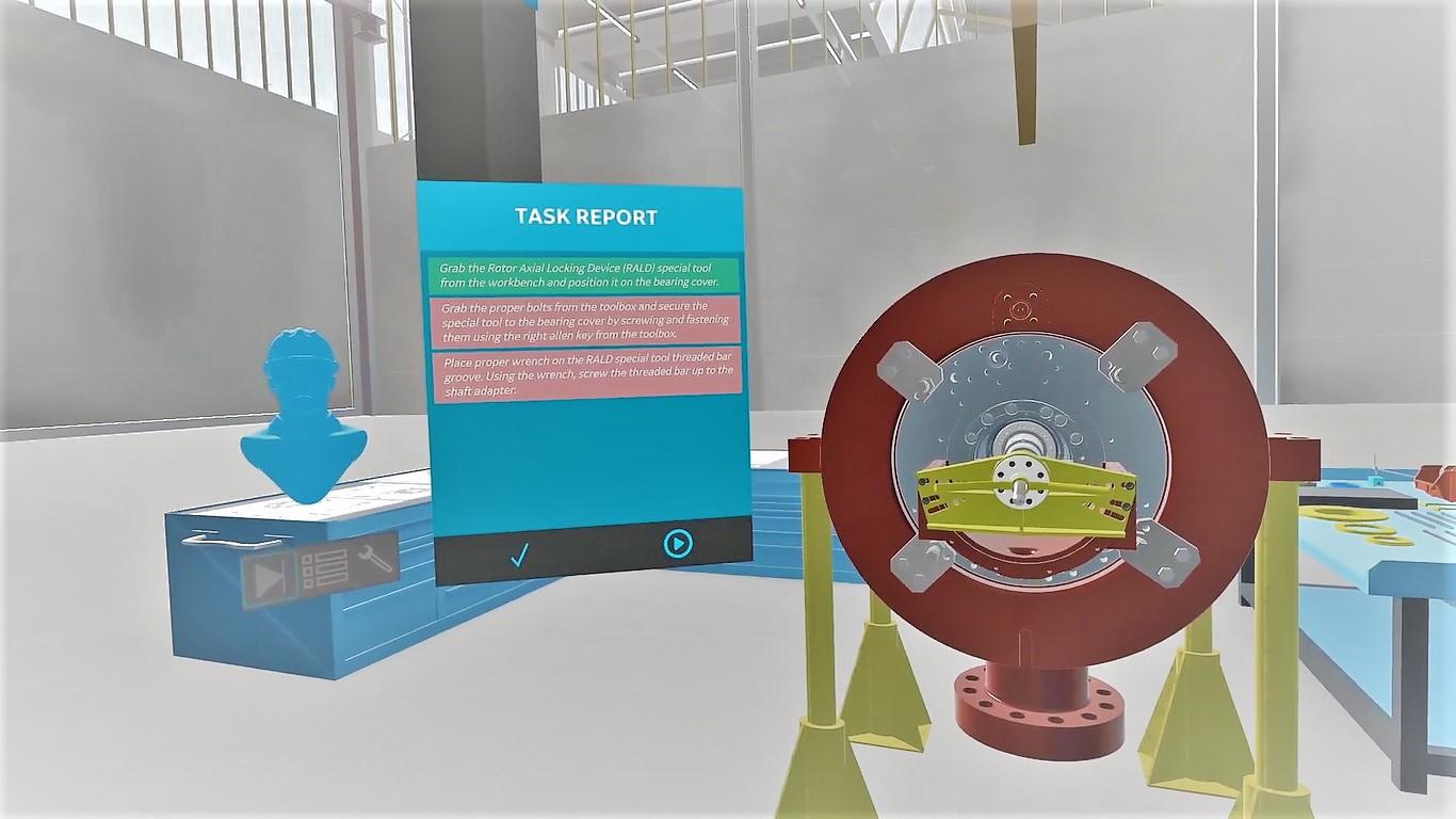 Remote Training Virtual Reality