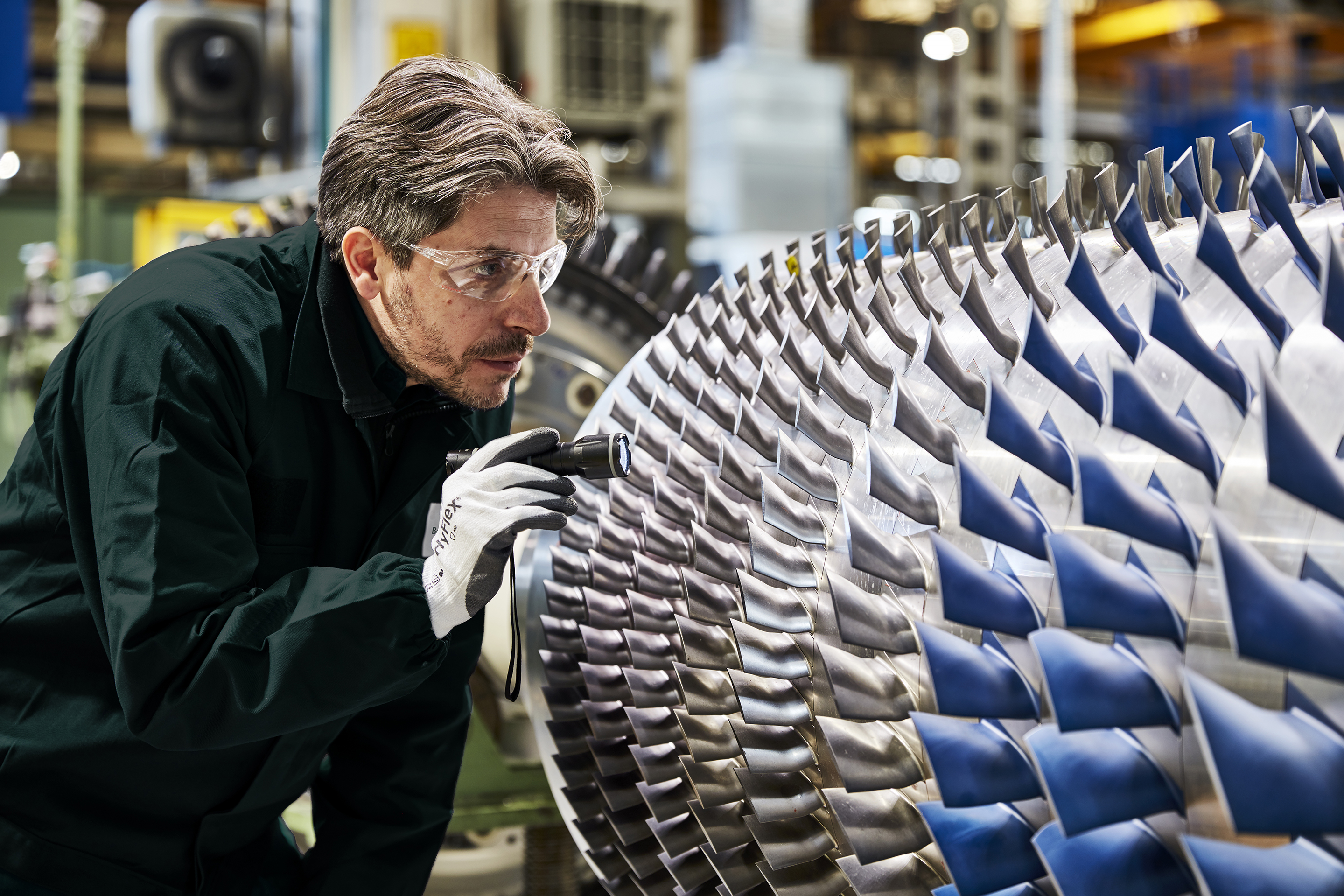 Turbomachiner Repairs Service Processes
