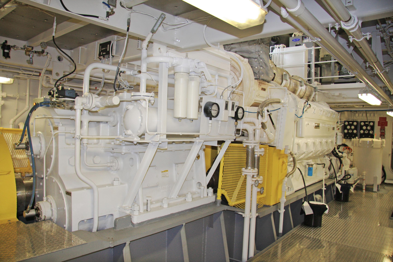 Low- and medium-speed marine