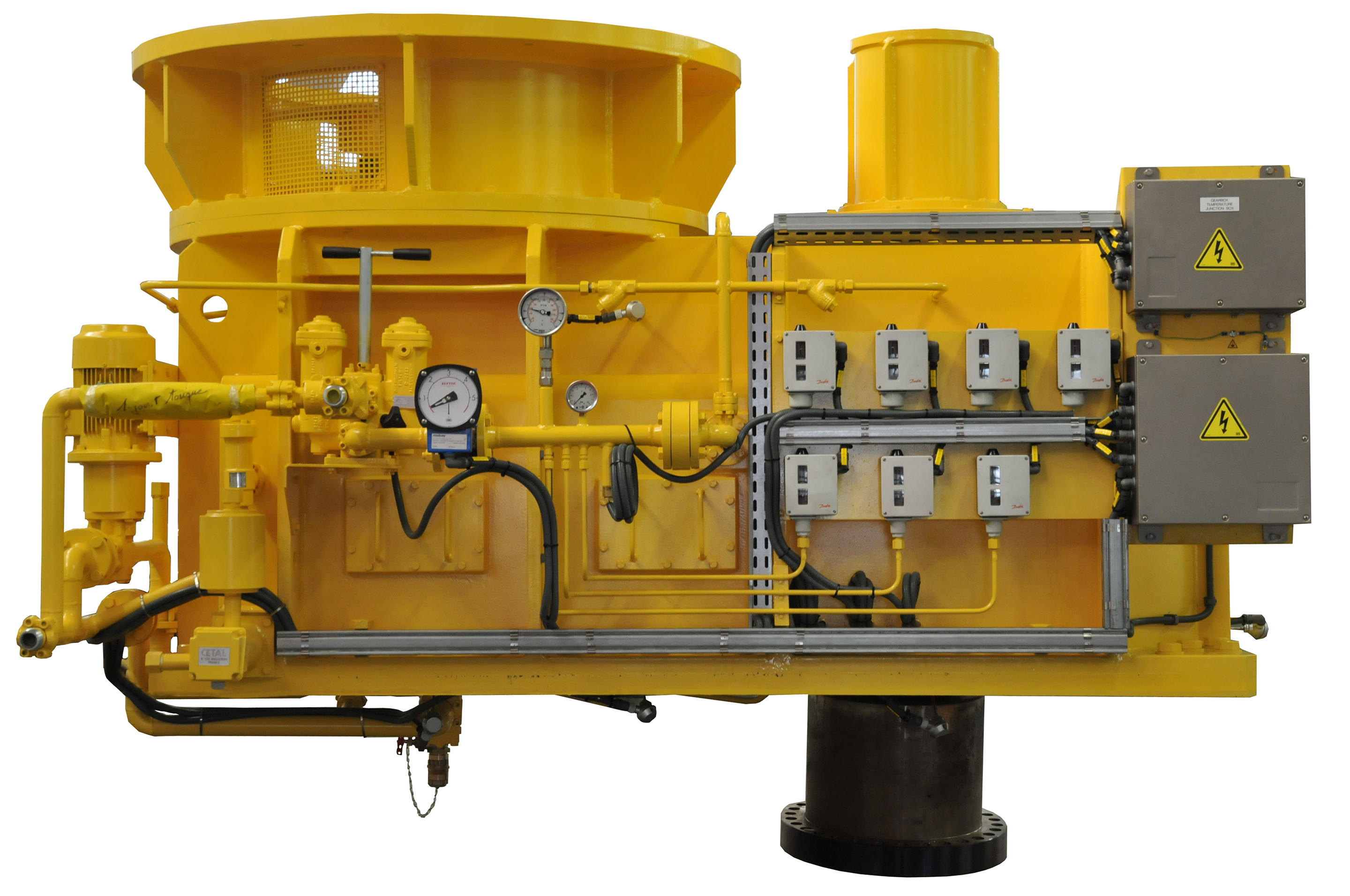 Low-speed Gearboxes Hydro Power