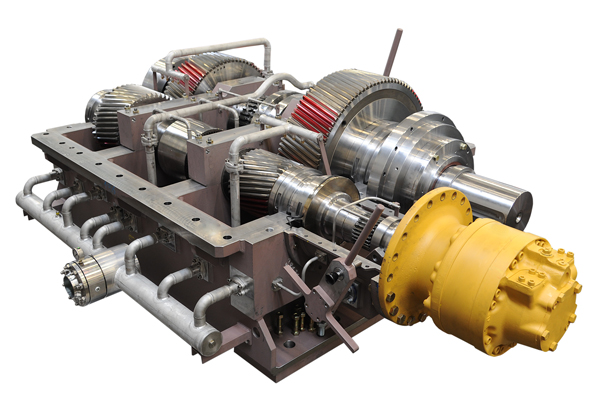 Low-speed Gearboxes Iron and Steel