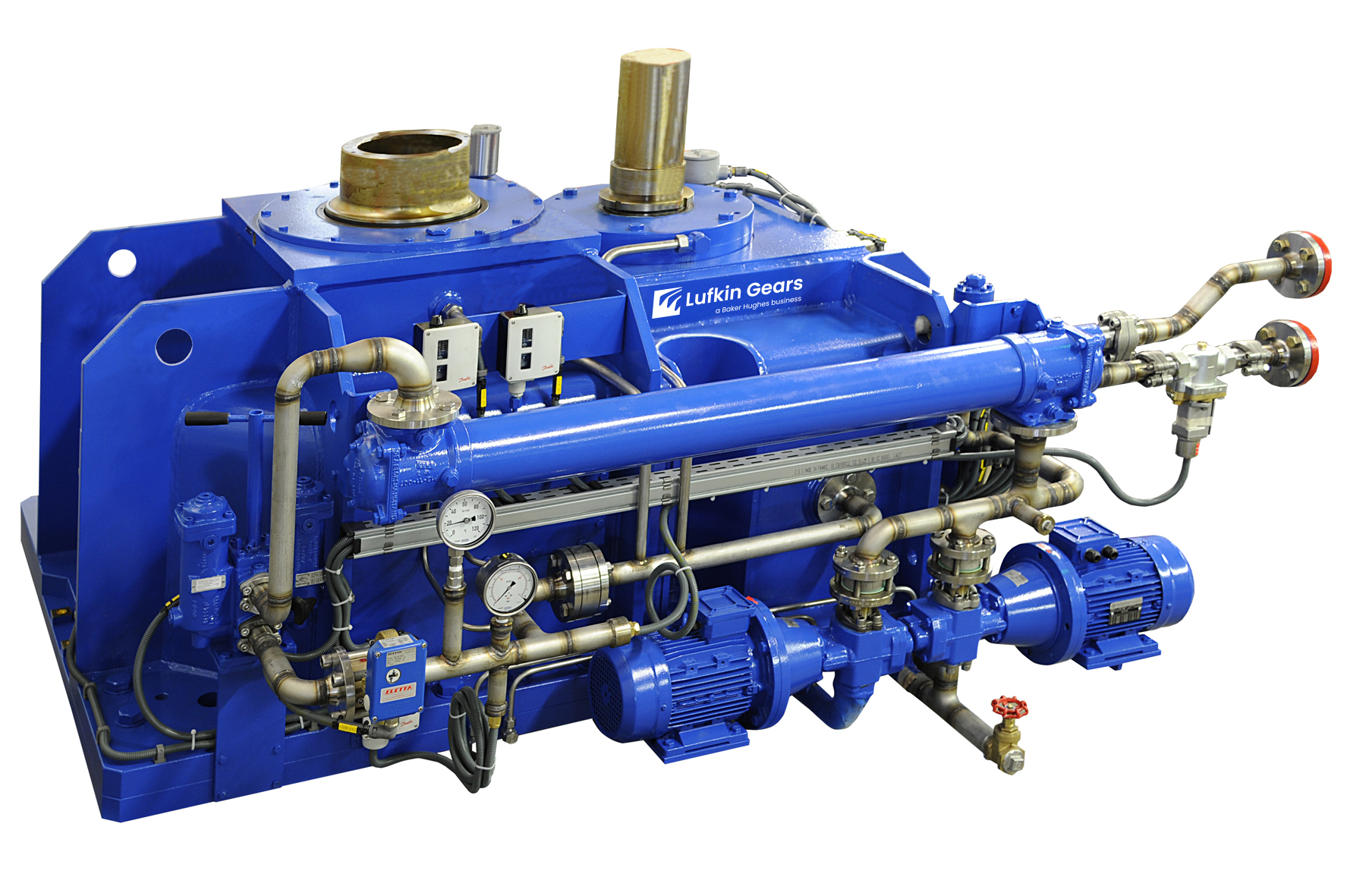 Low-speed Gearboxes Pumps