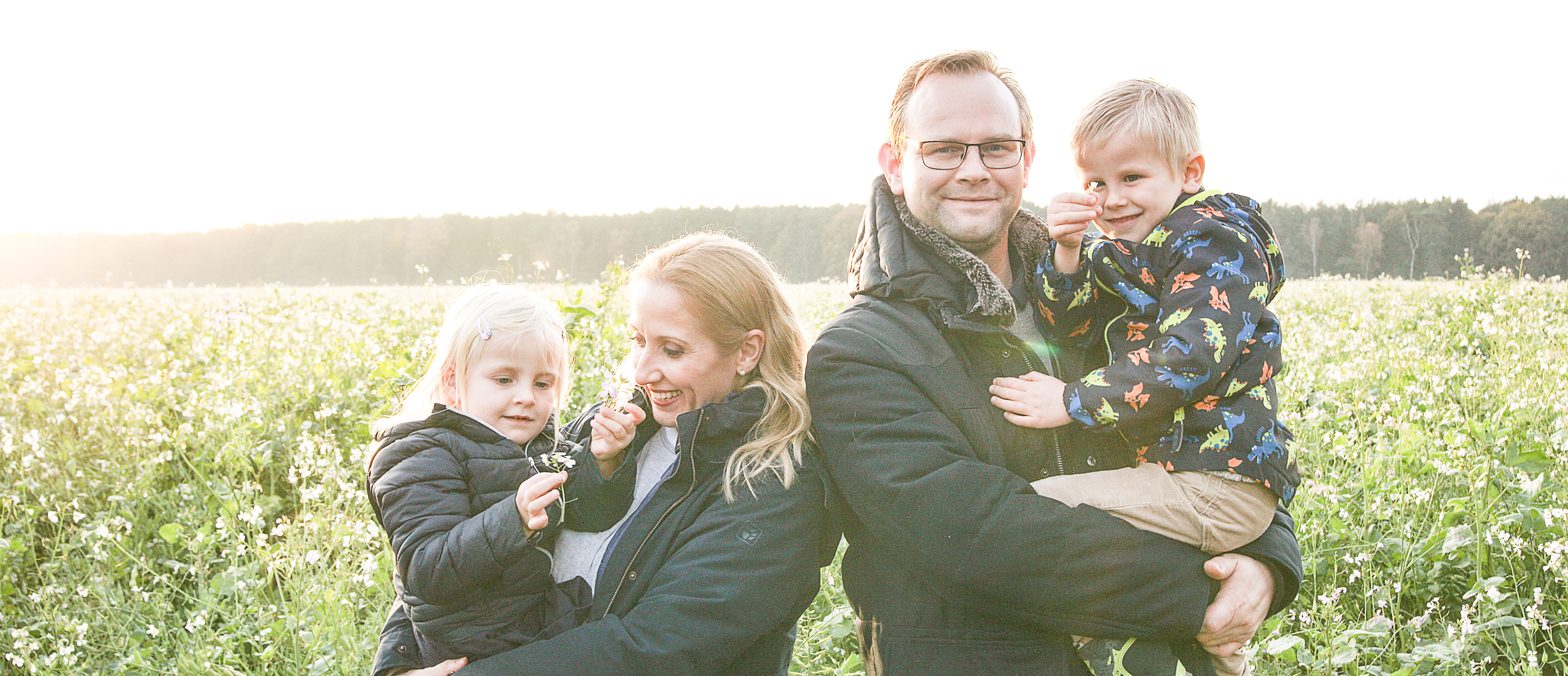 Elisabeth Tauber and family