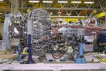 LMS100PB+ gas turbine