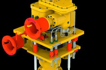 Subsea choke valve