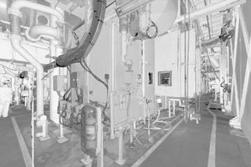 3D laser scanning and VR simulation enables customized maintenance plan for offshore platform equipment