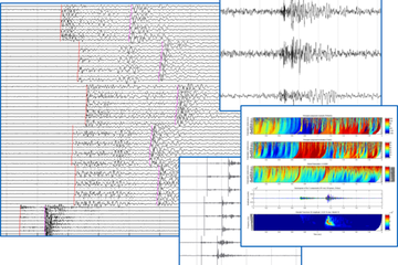 Report examples of microseismic monitoring