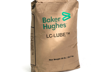 Photo of a sack of LC-LUBE.