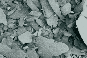 Photo of SOLUFLAKE lost circulation material (LCM) .