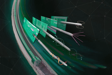 Animation still of the TeleCoil sensor package.