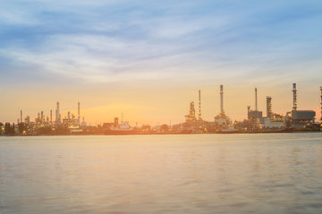 refineries and petrochemical plant