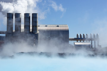 Geothermal scenery